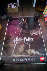 Harry Potter The Goblet Of Fire A 4x6 Ft Bus Shelter Movie Poster Original 2005