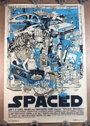 Spaced By Tyler Stout - Rare Mondo Art Print Signed And Numbered 1 Of 35 Sold Out