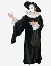 Venetian Mask Plague Doctor Costume Made In Venice, Italy