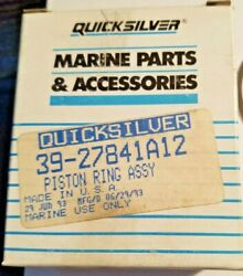 Nos New Old Stock Quicksilver Mercury 39-27841a12 Dealer Lot Of 20 Piston Rings