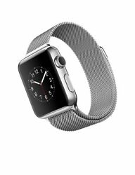 Apple A1533 Smart Watch 38mm Stainless Steel - Milanese Loop Band
