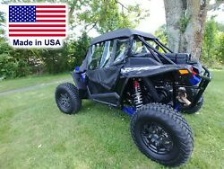 Rzr Xp Turbo S Enclosure For Existing Windshield - Doors, Roof, And Rear Window
