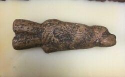 Ancient Ice Age Paleolithic Carved Portable Art Ivory Figure
