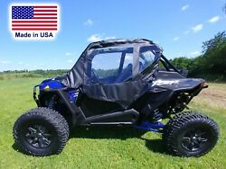 Doors For Rzr Xp Turbo S - Puncture Proof - Acrylic Material - Soft Doors