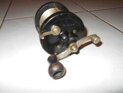 Vintage Antique Fishing Reel Abbey And Imbrie Asbury Usa Collectable Lures Reels