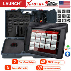 Launch X431 V+ Pro Full System Diagnostic Scanner Ecu Key Coding Tpms Abs Airbag