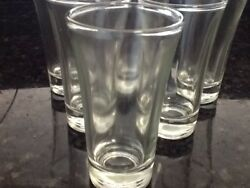 6 pcs Shot Glasses 2 oz Glass Barware Shots Whiskey Tequila Vodka Gin $12.99
