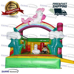 13x13ft Commercial Inflatable Pony Castle Bouncy House With Air Blower