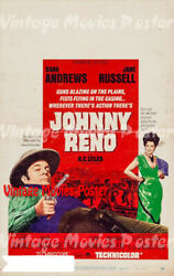 Johnny Reno 1966 Repro Reproduction Print Us Western Poster R.g. Springsteen