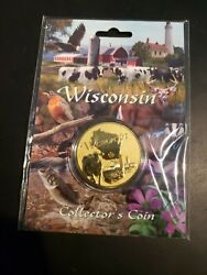 Wisconsin - Collector's Coin Sealed In Package