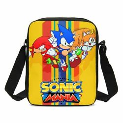 Sonic The Hedgehog Girls Crossbody Bags Boys Outdoor Sling Bags Casual Messenger $12.15