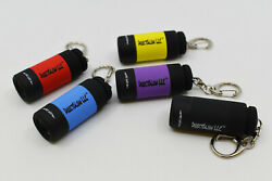DirectGlow USB UV Torch LED Keychain Flashlight Blacklight Rechargeable $6.95