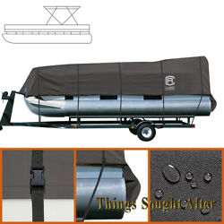 Stormpro Trailerable Pontoon Boat Storage Cover For 21 22 23 24 Foot Deck Party