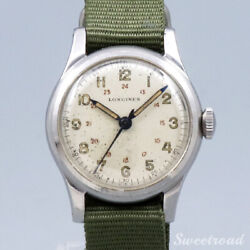 Longines Vintage Manual Winding Mens Watch Authentic Working
