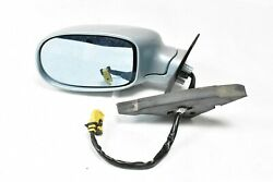 05-11 Maserati Quattroporte M139 Left Driver Door Mirror Assembly Blue Silver