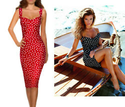 Gorgeous! DOLCE & GABBANA ITALY Polka dot silk dress  size 42