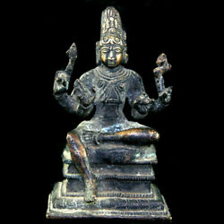 A South Indian Bronze Figure Of Shiva. 17th To 18th Century Y3500