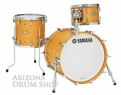 Yamaha Absolute Hybrid Maple 3pc. Shell Pack Vintage Natural 12/14/20 New