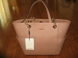 Calvin Klein Hayden Saffiano Leather Tote for woman $178.00 $118.00