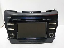 New Oem T/o 15-21 Nissan Murano Touchscreen Cd Radio Receiver Blue [28185-9ue1a]