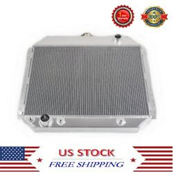 For 66-79 Ford F-100/f-150/f-250 Pickup/bronco 3 Rows Cooling Aluminum Radiator