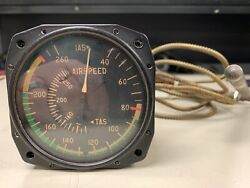 Cessna True Airspeed Indicator With Capillary Tube P/n C661045-0313 - Good Core