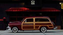 1949 1950 1951 Ford Woodie Station Wagon Exterior Wood Or Metal Panels Woody