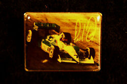 Hat Pin Indy 500 Paul Tracy 7 Mobil 1