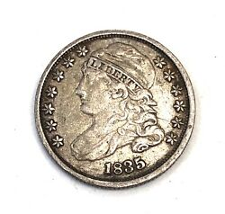 1835- U.s. Silver Bust Dime High Grade Problem Free--- See Other Rare Coins
