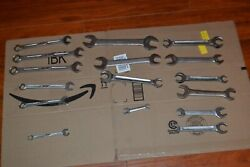 Lot Of 16 Vintage Bonney Tools Wrenches