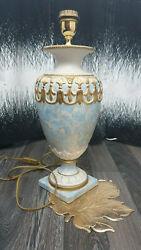 Classic Antique Style Luxury Table Lamp Hand Painted Decoration Deco Lighting