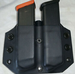 Fits A Glock 43x/48 Double Stack Single Double Or Triple Mag Pouch