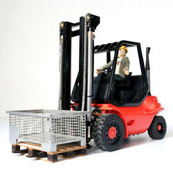 New Metal Forklift Proportional Compatible Remote Control Hydraulic 1/14 Gift