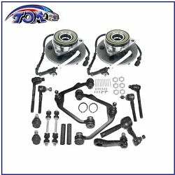Full Control Arms Wheel Hub Kit For 2000-2003 Ford F-150 4wd