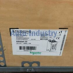 1pc New In Box Schneider Ats22c21q One Year Warranty Ats22c21q Fast Delivery
