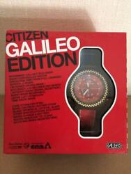 Citizen Box Galileo Edition Eco-drive Solar Mens Watch Authentic Working