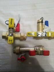 2webstone Nsf-372500w06+1watts Lftwh-ft-h600w06 Ball Valve With Drain T-flow