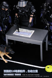 In-stock 1/6 Furniture Table Desk + Chair For 12 Action Figure