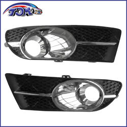 Front Right And Left Fog Light Lamp Cover Trim For Buick Verano 2012-2017