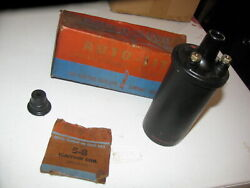1930s 1940s 1950s Auto-lite Coil 200577 6 Volt Made In Usa Nos New Old Stock