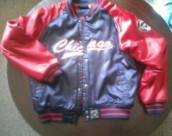 Chicago Cooperstown Majestic Jacket All Star Game Patch Puffy Jacket Large