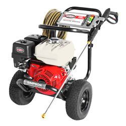 Simpson Powershot Ps60869 4000 Psi Gas - Cold Water Pressure Washer W/ Hond...