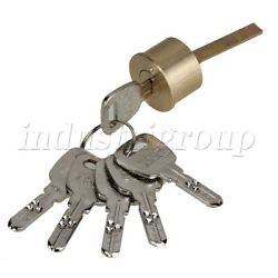 Mortise Rim Cylinder Door Night Latch Lock Line Shaped With Keys Replacement