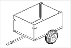 3and039 X 4and039 Off-road Utility Cart Trailer Plan 104