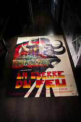 The Quest Of Fire Annaud 4x6 Ft French Grande Movie Poster Original 1981