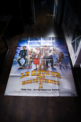 The Return Of The Living Dead 2 4x6 Ft French Grande Movie Poster Original 1988