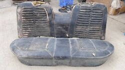 1964 Ford Galaxie 500 Xl 4 Door Back Seat Assembly Original Fomoco 4dr Hardtop