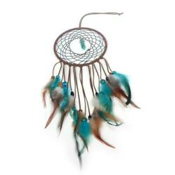 Handmade Feather Dream Catcher Wall Hanging Decorations LED Light Accessories