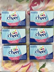 Cheer Bright Clean 6 Loads 6 - 1 Load Boxes.