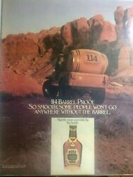 Old Grand Dad Whiskey Print Ad Vintage Ad 1982